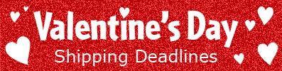 Valentine Shipping Deadlines